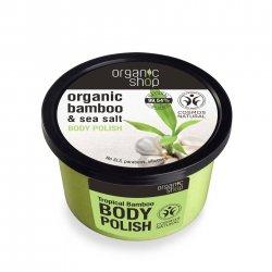 Organic Shop, naturalny energetyzujący peeling do ciała Tropikalny Bambus, 250ml