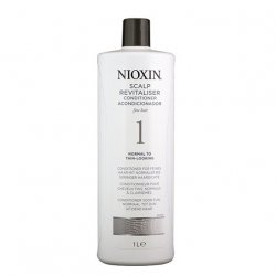 Nioxin System 1, Scalp Revitalizer, lekka odżywka, 1000ml