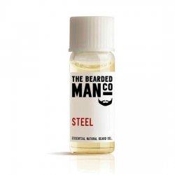 Bearded Man Steel, olejek do brody Stal, 2ml