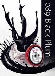 Semilac UV Gel Color 089 Black Plum, 5ml