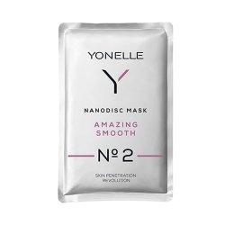 Yonelle Amazing Smooth N°2, maska nanodyskowa wygładzająca, saszetka 6ml