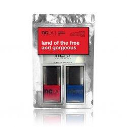 NCLA Land of the Free and Gorgeous, zestaw 2 lakierów, 2x15ml