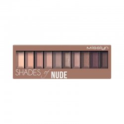 Misslyn, paleta cieni do powiek, Shades of Nude