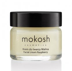 Mokosh, regenerujący krem do twarzy anti-pollution, malina, 15ml