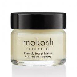 Mokosh, regenerujący krem do twarzy anti-pollution, malina, 15ml