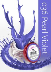 Semilac UV Gel Color 036 Pearl Violet, 5ml