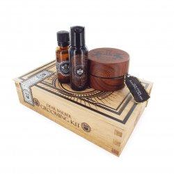 Dear Barber Style & Go Collection - Shaping Cream, zestaw: szampon 50ml, tonik 30ml, krem do stylizacji 100ml