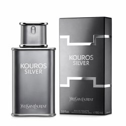 Yves Saint Laurent Kouros Silver, woda toaletowa, 100ml (M)