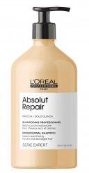 Loreal Absolut Repair, szampon regenerujący włosy uwrażliwione, 750ml