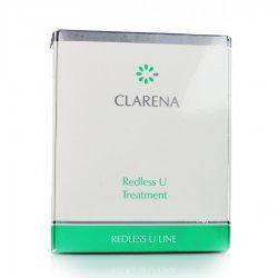Clarena Redless U Line, zabieg redukujący trądzik różowaty, zestaw na 1 zabieg
