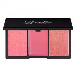Sleek Makeup, paleta róży do policzków, Pink Lemonade