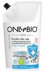 OnlyBio Silver Med Care+, mydło o właściwościach antybakteryjnych i nawilżających, refill, 500ml