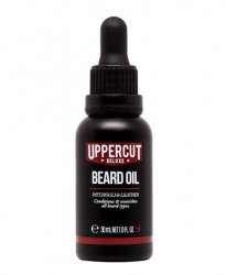 Uppercut Deluxe, Beard Oil, olejek do brody, paczuli i skóra, 30ml