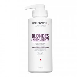 Goldwell Dualsenses Blondes & Highlights, 60-sekundowa kuracja neutralizująca, 500ml