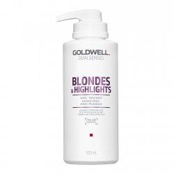 Goldwell Dualsenses Blondes & Highlights, 60-sekundowa kuracja neutralizująca, 500ml