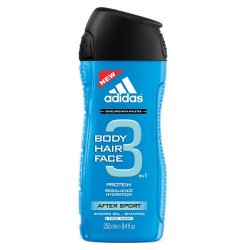 Adidas 3in1 After Sport, żel pod prysznic, 250ml (M)