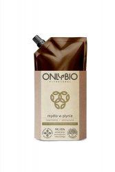OnlyBio, mydło w płynie, nawilżanie i odżywianie, refill pack 500ml