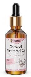 Nacomi, olej ze słodkich migdałów z pompką, 50ml