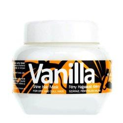 Kallos Vanilla, maska do włosów nabłyszczająca, 275ml