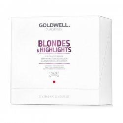Goldwell Dualsenses Blondes & Highlights, serum przypieczętowujące kolor, 12x18ml