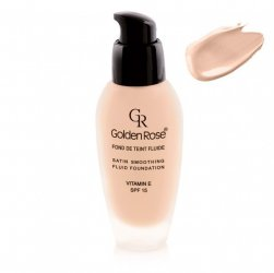 Golden Rose Satin Smoothing Foundation, podkład do twarzy, 34ml