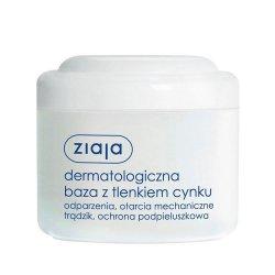 Ziaja, dermatologiczna baza z tlenkiem cynku, 80ml