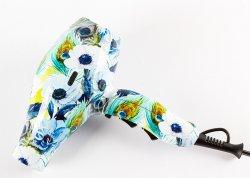 Fox Art Peacock & Flower, suszarka z jonizacją i dyfuzorem, 2100W