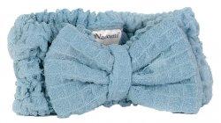 Nacomi, opaska na włosy z mikrofibry, niebieska, 1szt