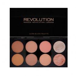Makeup Revolution, paleta róży do policzków, Hot Spice