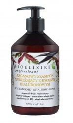 Bioelixire Professional, arganowy szampon z kwasem hialuronowym, 500ml
