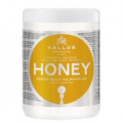 Kallos KJMN Honey, maska do włosów naprawcza, 1000ml