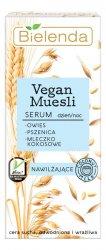 Bielenda Vegan Muesli, nawilżające serum do twarzy, 30ml