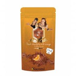 Nacomi Fit Lovers, peeling kawowy Ciemna Czekolada i Pomarańcza, 300g