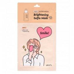 Skin79 Selfie Mask, rozjaśniająca maska w płachcie, 1,5ml+25ml
