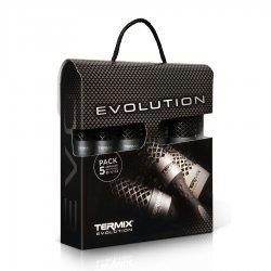 Termix Evolution Plus, zestaw 5 szczotek do włosów grubych, różne rozmiary
