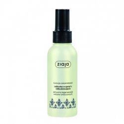 Ziaja, odżywka w sprayu do włosów zniszczonych Intensywna Odbudowa z ceramidami, 125ml