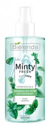 Bielenda Minty Fresh Foot Care, mgiełka odświeżająca antyprespirant do stóp, 150ml
