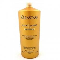 Kerastase Elixir Ultime, luksusowy szampon z olejkami, duża pojemność 1000ml