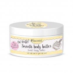 Nacomi, lekkie masło do ciała - miodowe gofry, 100g