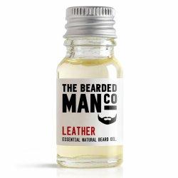 Bearded Man Leather, olejek do brody Skóra, 10ml