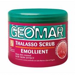 Geomar Thalasso Scrub, truskawkowy zmiękczający peeling do ciała, 600g