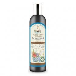 Babuszka Agafia, balsam do włosów kwiaty i propolis, 550ml