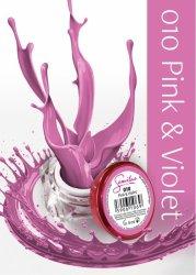 Semilac UV Gel Color 010 Pink&Violet, 5ml