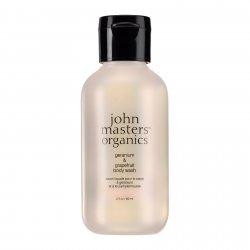 John Masters Organics, Geranium & Grejpfrut, żel do mycia ciała, 60 ml