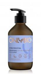OnlyBio Hydra Mocktail, odświeżający żel do mycia twarzy, 250ml