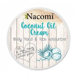 Nacomi, krem kokosowy uniwersalny, 100ml