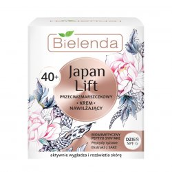 Bielenda Japan Lift, nawilżający krem przeciwzmarszczkowy na dzień 40+, 50ml