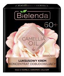 Bielenda Camellia Oil, luksusowy krem-koncentrat odbudowujący 60+, 50ml