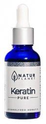 NaturPlanet keratyna hydrolizowana w płynie, 30ml