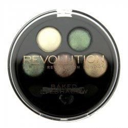 Makeup Revolution, wypiekane cienie, Eden
